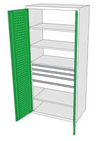 Dílenské skříně DSP 92 1_2x2_2x3_1
