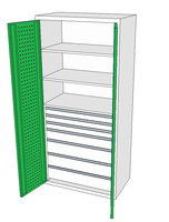 Dílenské skříně DSP 92 1_3x2_1x3_3x4