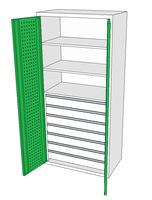 Dílenské skříně DSP 92 1_7x3
