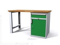 Dílenské stoly ALCERA® PROFI ALCERA_P12_PN_1ZD