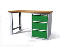Dílenské stoly ALCERA® PROFI ALCERA_P12_PN_3Z
