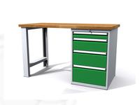 Dílenské stoly ALCERA® PROFI ALCERA_P12_PN_4Z