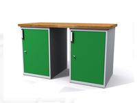 Dílenské stoly ALCERA® PROFI ALCERA_P15_1D_1D