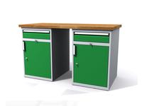 Dílenské stoly ALCERA® PROFI ALCERA_P15_1ZD_1ZD