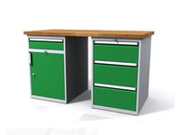 Dílenské stoly ALCERA® PROFI ALCERA_P15_1ZD_3Z