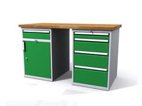 Dílenské stoly ALCERA® PROFI ALCERA_P15_1ZD_4Z