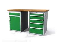 Dílenské stoly ALCERA® PROFI ALCERA_P15_1ZD_5Z