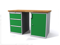 Dielenské stoly ALCERA® PROFI ALCERA P15 K10