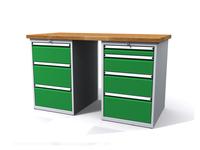 Dílenské stoly ALCERA® PROFI ALCERA_P15_3Z_4Z