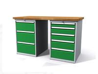 Dílenské stoly ALCERA® PROFI ALCERA_P15_3Z_5Z