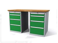 Dielenské stoly ALCERA® PROFI ALCERA P15 K11