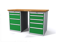 Dílenské stoly ALCERA® PROFI ALCERA_P15_4Z_5Z