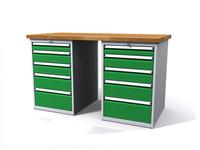 Dílenské stoly ALCERA® PROFI ALCERA_P15_5Z_5Z