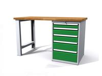 Dílenské stoly ALCERA® PROFI ALCERA_P15_PN_5Z