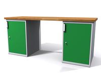Dílenské stoly ALCERA® PROFI ALCERA_P20_1D_1D