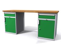 Dílenské stoly ALCERA® PROFI ALCERA_P20_1ZD_1ZD