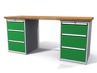 Dílenské stoly ALCERA® PROFI ALCERA_P20_3Z_3Z