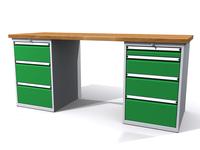 Dílenské stoly ALCERA® PROFI ALCERA_P20_3Z_4Z
