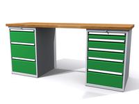 Dílenské stoly ALCERA® PROFI ALCERA_P20_3Z_5Z