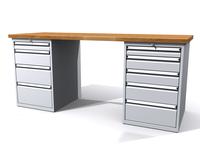 Dílenské stoly ALCERA® PROFI ALCERA_P20_4Z_5Z