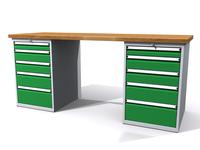 Dílenské stoly ALCERA® PROFI ALCERA_P20_5Z_5Z