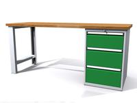 Dielenské stoly ALCERA® PROFI ALCERA P20 K07