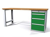 Dielenské stoly ALCERA® PROFI ALCERA P20 K08