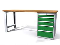 Dílenské stoly ALCERA® PROFI ALCERA_P20_PN_5Z