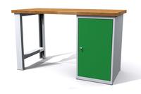 Dílenské stoly ALCERA® UNI ALCERA_U12_PN_1D