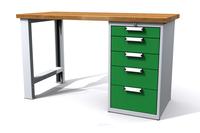 Dílenské stoly ALCERA® UNI ALCERA_U12_PN_5Z