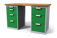 Dílenské stoly ALCERA® UNI ALCERA_U15_4Z_3Z