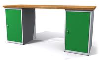 Dílenské stoly ALCERA® UNI ALCERA_U20_1D_1D