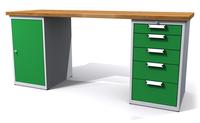 Dílenské stoly ALCERA® UNI ALCERA_U20_1D_5Z
