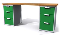 Dílenské stoly ALCERA® UNI ALCERA_U20_3Z_3Z