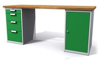 Dielenské stoly ALCERA® UNI ALCERA U20 K09