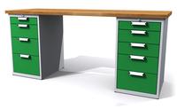 Dílenské stoly ALCERA® UNI ALCERA_U20_4Z_5Z