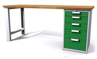 Dielenské stoly ALCERA® UNI ALCERA U20 K07