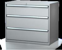 Dielenské zásuvkové skrine 17U - š 1014 xh 600 mm DKP 5427 17U 3