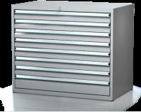 Dielenské zásuvkové skrine 17U - š 1014 xh 750 mm DKP 5427 17U 8