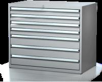 Dielenské zásuvkové skrine 17U - š 1014 xh 750 mm DKP 5436 17U 4