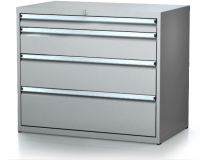 Dielenské zásuvkové skrine 17U - š 1014 xh 750 mm DKP 5436 17U 5