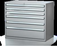 Dielenské zásuvkové skrine 17U - š 1014 xh 750 mm DKP 5436 17U 7