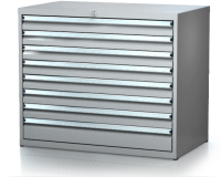 Dielenské zásuvkové skrine 17U - š 1014 xh 750 mm DKP 5436 17U 8