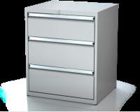 Dielenské zásuvkové skrine 17U - š 710 xh 600 mm DKP 3627 17U 3