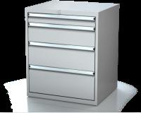 Dielenské zásuvkové skrine 17U - š 710 xh 600 mm DKP 3627 17U 4