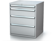 Dielenské zásuvkové skrine 17U - š 710 xh 750 mm DKP 3636 17U 4