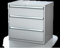 Dielenské zásuvkové skrine 17U - š 860 xh 600 mm DKP 4527 17U 3