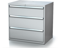 Dielenské zásuvkové skrine 17U - š 860 xh 750 mm DKP 4536 17U 3