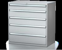 Dielenské zásuvkové skrine 21U - š 1014 xh 600 mm DKP 5427 21U 5