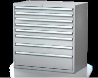 Dielenské zásuvkové skrine 21U - š 1014 xh 600 mm DKP 5427 21U 8